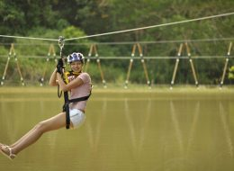 "1-Hour ATV tour + Flying Fox 'N"" Rope Bridget - Phuket"
