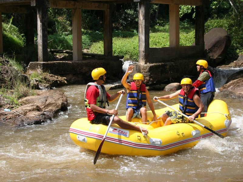 3 Hours ATV Tour plus 5 Kilometers Whitewater Rafting in Phang Nga