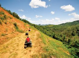 3 Hours ATV tour in Phang Nga
