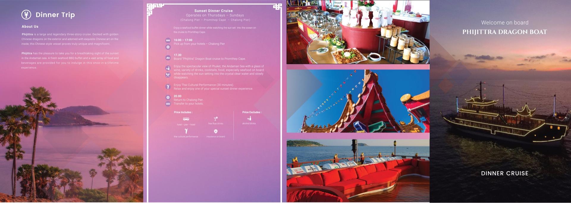 Dragon Boat Dinner - Dinner Cruise Brochure