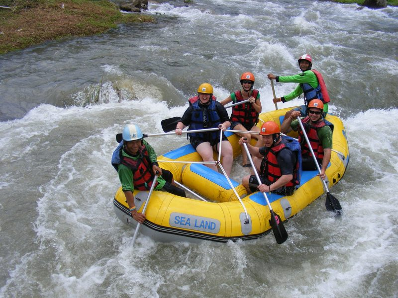 Full day White water Rafting and ATV Riding /Join tours and escorted by English speaking