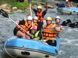 Full day White water Rafting and Elephant Trekking