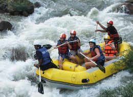 Full day White water Rafting and Elephant Trekking and ATV