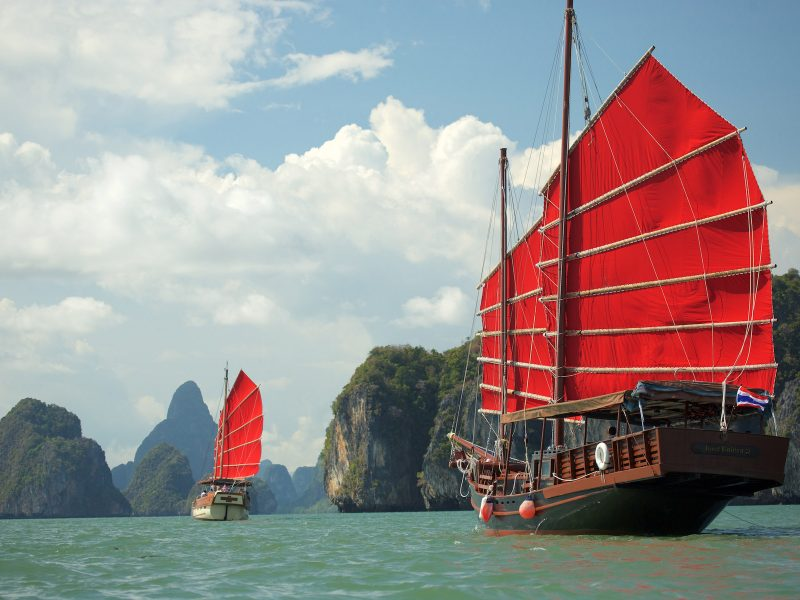 June Bahtra in Phuket - The Spirit of Phang Nga Bay Cruise