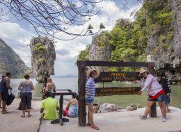 Phang Nga bay + Canoe + Khai Nai Island tour – full tour