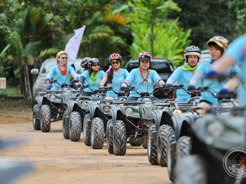Safari tour by QUAD Bike plus Team Building Games | Phuket Goodwill