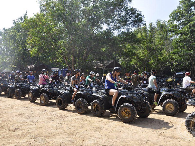 Safari tour by QUAD Bike plus Team Building Games | Phuket